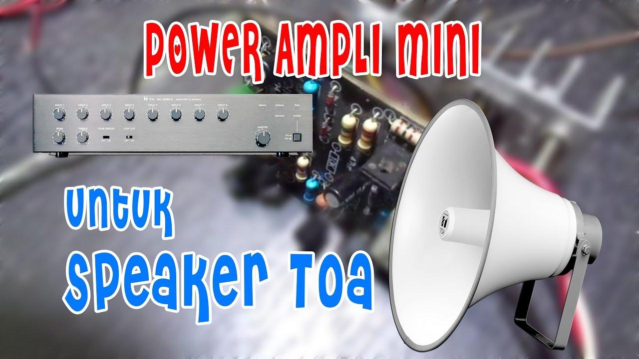 merakit power ampli mini untuk speaker toa kecil youtube. Black Bedroom Furniture Sets. Home Design Ideas