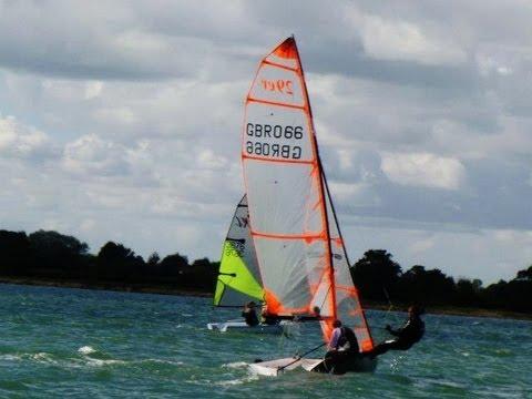 GoPro Hero2 29er sailing Swansea - YouTube