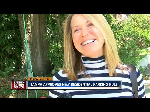 """Tampa testing replacement for """"5 Minute Parking"""" signs"""