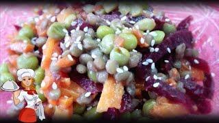 Салат постный с чечевицей (чечевица, постные салаты, вкусный салат)