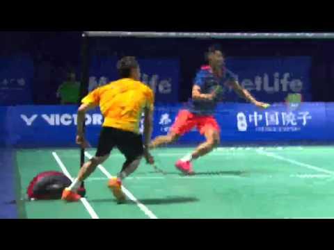 Lee Chong Wei defeated Lin Dan!! Thaihot China Open 2015 in Semi Finals