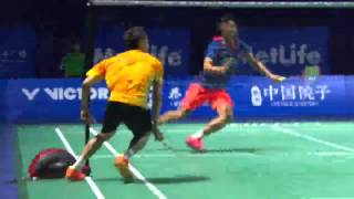 Lee Chong Wei defeated Lin Dan!! Thaihot China Open 2015 in Semi Finals