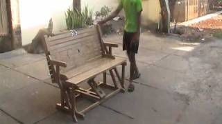 Folding Table Bench