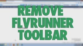 Remove FLV Runner toolbar