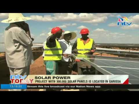 Kenya's largest solar power project to be complete by September