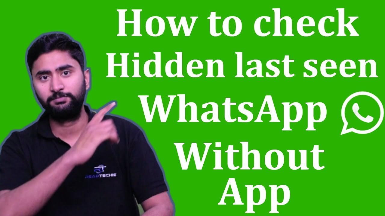 How to check hidden last seen on WhatsApp? without any App | whatsapp tricks