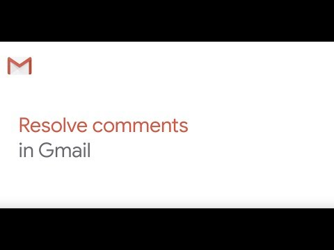 How To: Resolve a Comment from Gmail