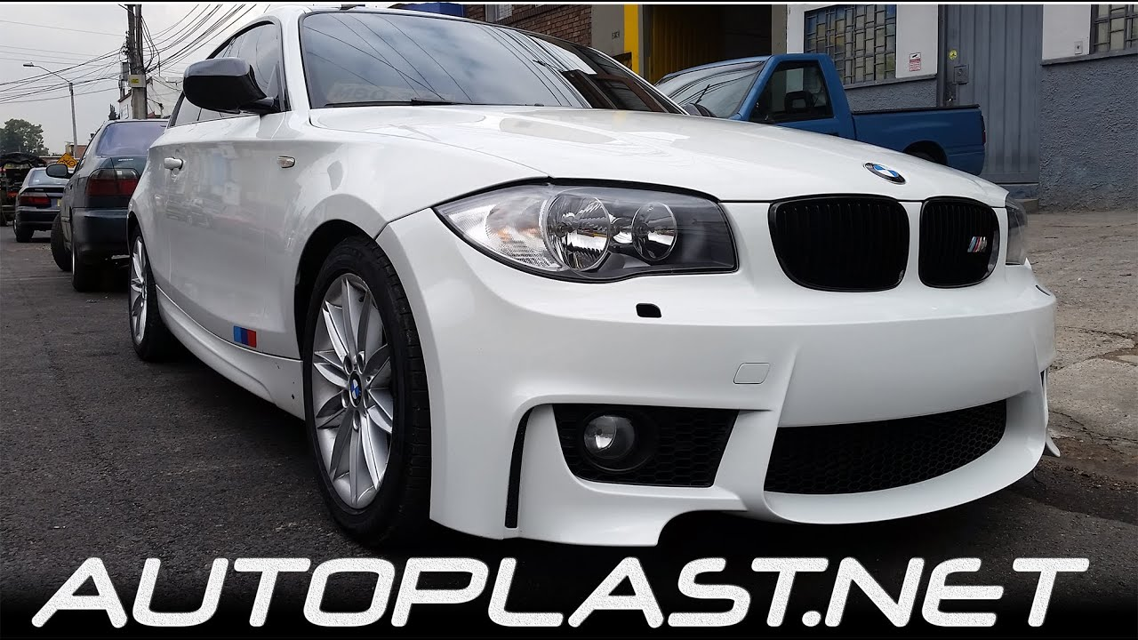 autoplast bodyworx bmw e87 120i bodykit m youtube. Black Bedroom Furniture Sets. Home Design Ideas