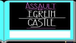 Zork Quest - Assualt on Egreth Castle gameplay (PC Game, 1987)