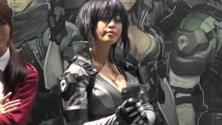Tokyogameshow2016 nexon online 女子大生 グラドル Gカップ レースクイ...