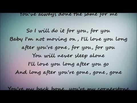 Gone, Gone, Gone - Phillip Phillips Lyrics