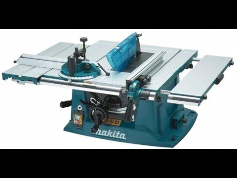 Makita MLT 100 выравнивание стола