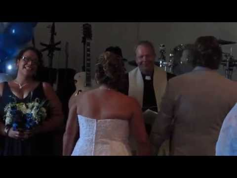 Jillian Hart sings Dance With Me while bride walks down isle - Hart & Soul Duo