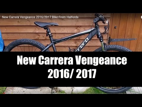 New Carrera Vengeance 2016 2017 Bike From Halfords Youtube