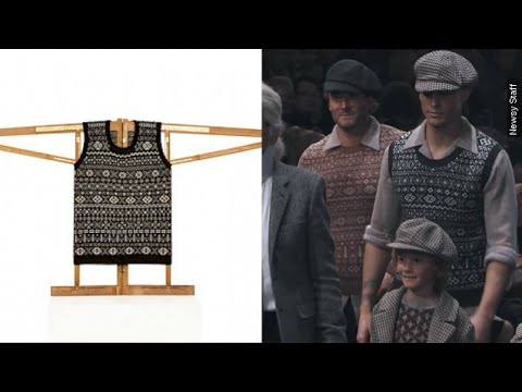 Scottish Knitter Claims Chanel Ripped Off Her Sweater Design - Newsy
