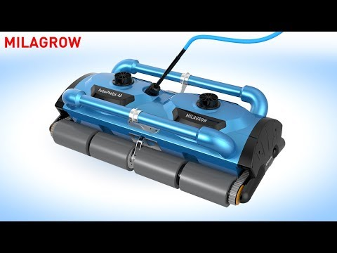 Milagrow RoboPhelps 40 Turbo - India's 1st Olympic Size Swimming Pool Cleaning Robot