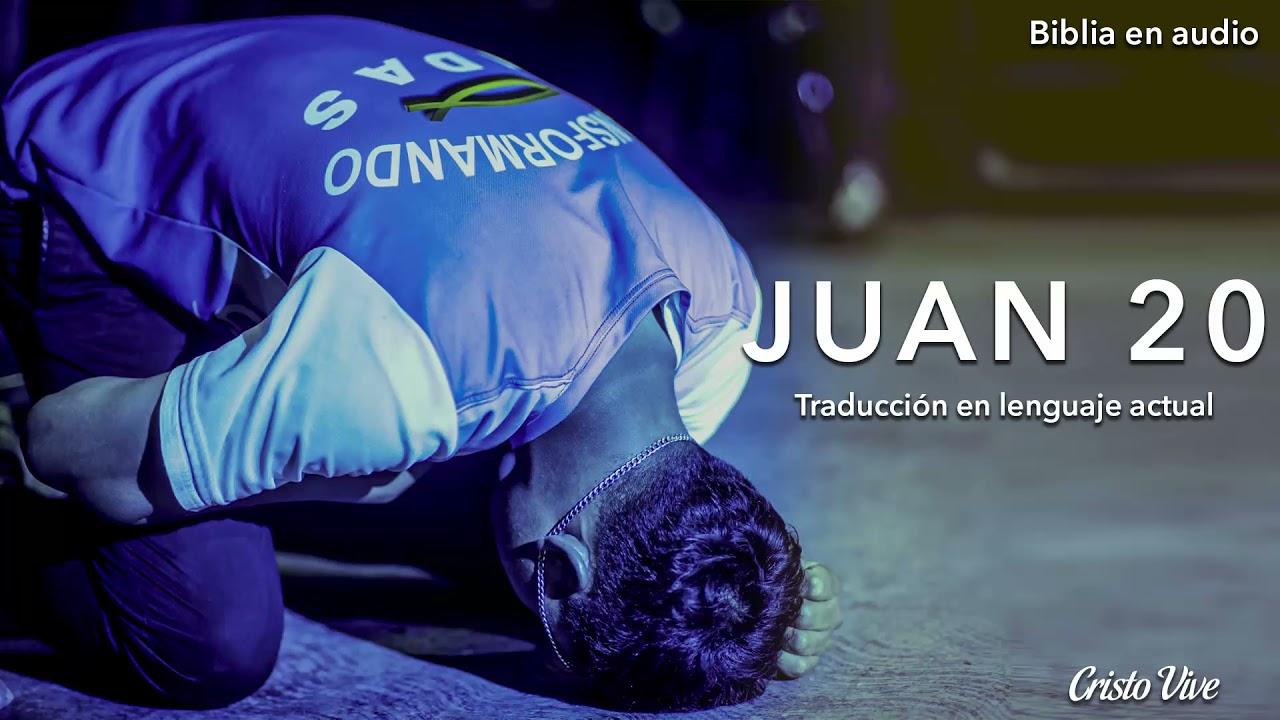 🔈 JUAN 20 (Traducción en lenguaje actual) | Biblia en audio