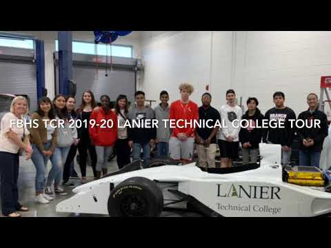 FBHS TCR Tour of Lanier Technical College 2019-20