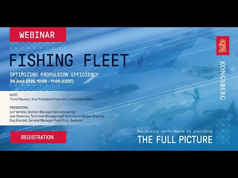 Webinar - Fishing Fleet - Optimizing propulsion efficiency