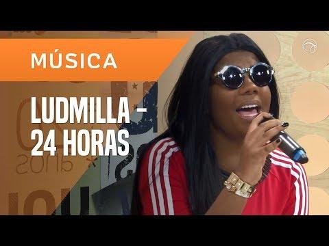 LUDMILLA - 24 HORAS POR DIA (VERSÃO ACÚSTICA) - AO VIVO NO UOL