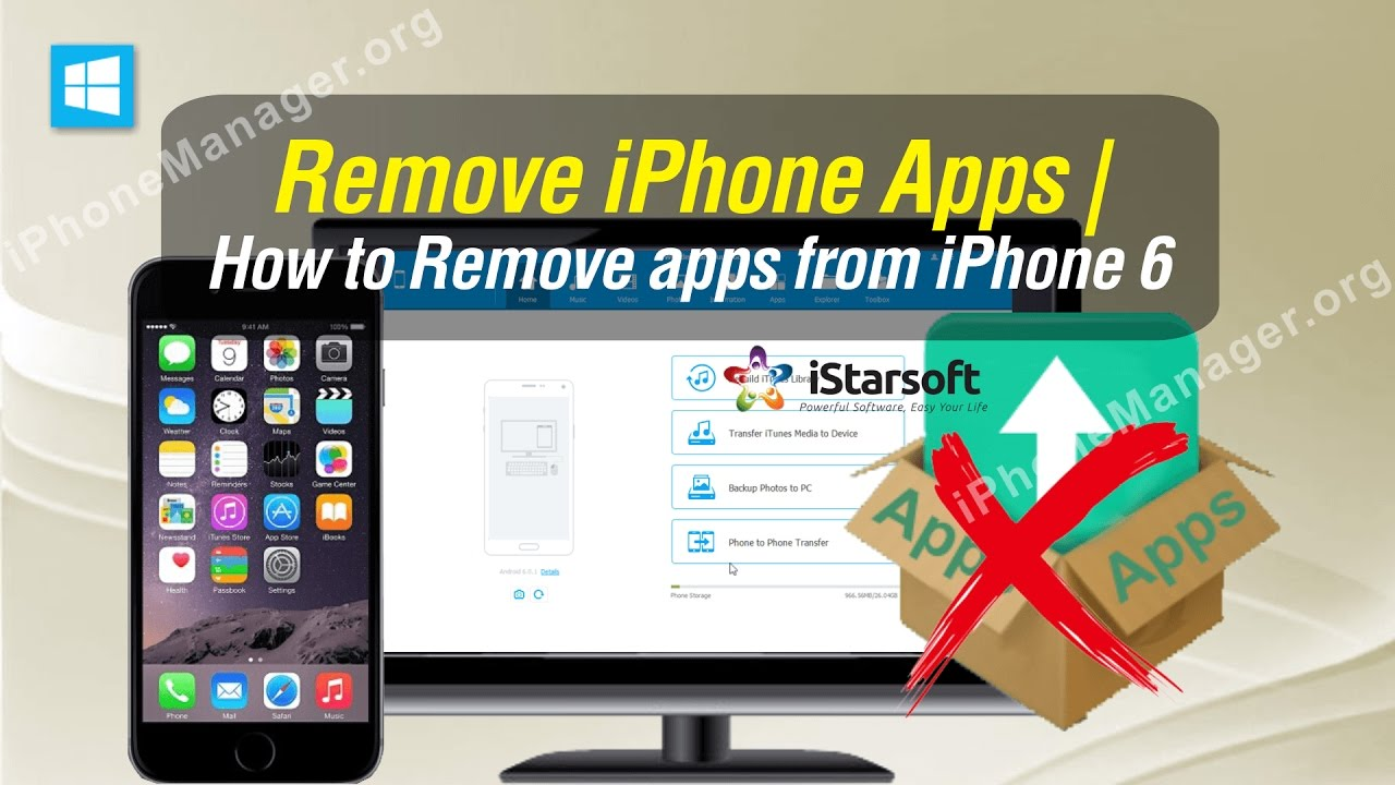 Remove Iphone Apps  How To Remove Apps From Iphone 6