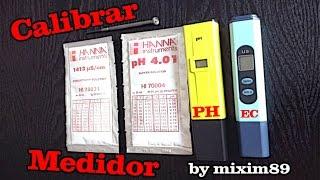 Calibrar medidor PH y EC by mixim89(Calibrar medidor PH y EC by mixim89. En el siguiente vídeo se muestra como calibrar un medidor de PH (acidez o alcalinidad del agua) y un medidor de EC ..., 2014-10-05T16:45:07.000Z)