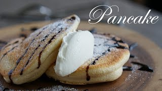 ふわふわスフレパンケーキ作り方/souffle pancake recipe~簡単お菓子作り