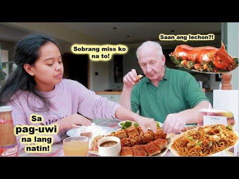 Filipina British Life In UK: MUKBANG+ SAAN ANG MASARAP NA LECHON?