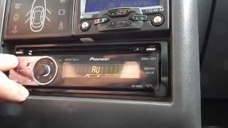 Pioneer DEN-5000ub, як налаштувати радіо