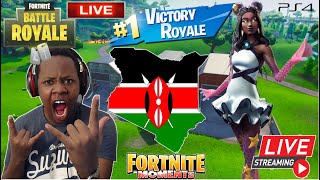 🔴BOTS PLAYING FORTNITE LIVE IN KENYA!!!
