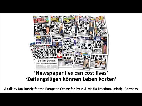 Newspaper lies can cost lives