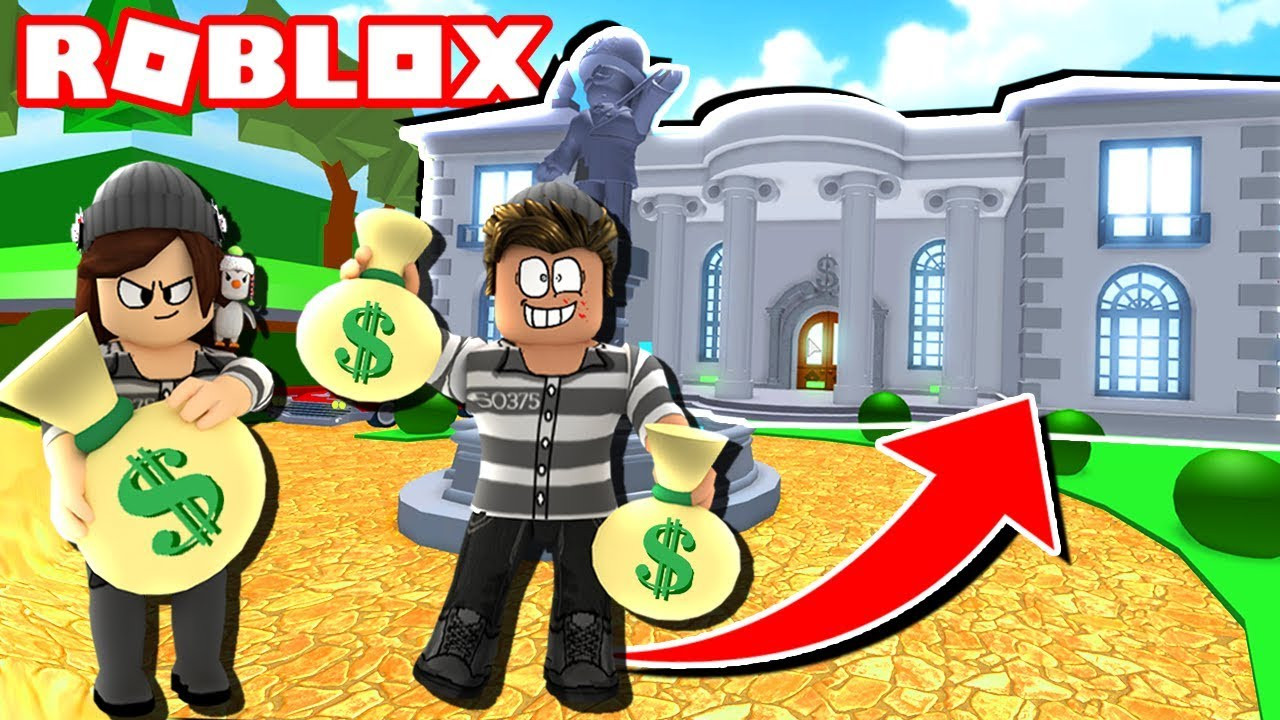 Roblox Rob The Mansion Obby Youtube
