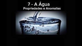 7 A Água