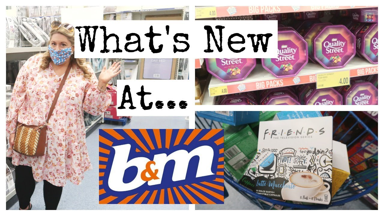 *WHATS NEW*  AT B&M / COME SHOP WITH ME
