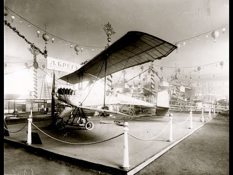 The First International Aeronautical Exhibition, St. Petersburg - 1911