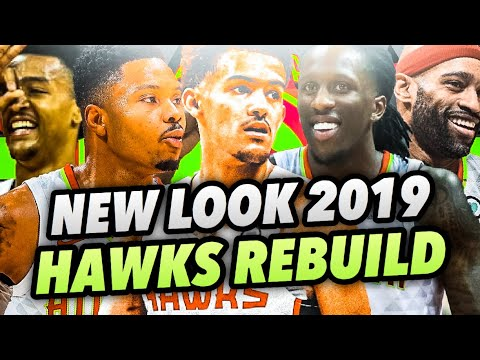 NEW LOOK 2019 ATLANTA HAWKS REBUILD! NBA 2K18 MY LEAGUE!