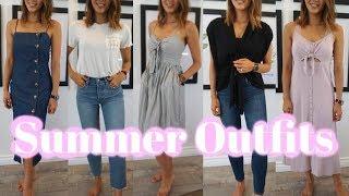 夏のカジュアルコーデ♡ Ft. Daniel Wellington | Summer Outfits