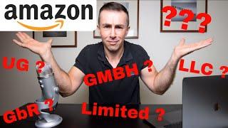 Für Amazon FBA Verkäufer Gewerbe anmelden, Kleingewerbe GmbH UG Limited Vergleich