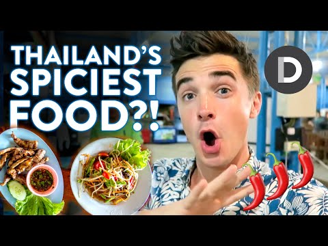Is this Thailand's SPICIEST Food?! Food Vlog!