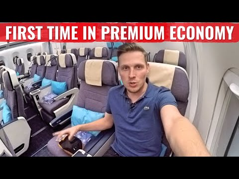 PHILIPPINE AIRLINES A350 - My FIRST TIME In PREMIUM ECONOMY - Is It WORTH It?