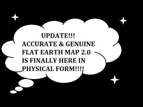 UPDATE**Genuine & Accurate Physical Flat Earth Map thumbnail