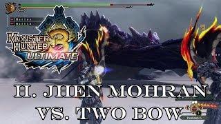『MH3U | MH3G』[G-Rank★★★] Hallowed Jhen Mohran (Speedkill/Two Bow) 10:17