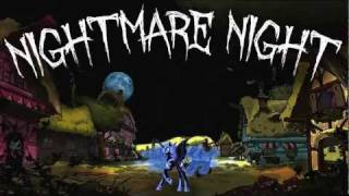 Nightmare Night - Full Rock/Metal Version with lyrics