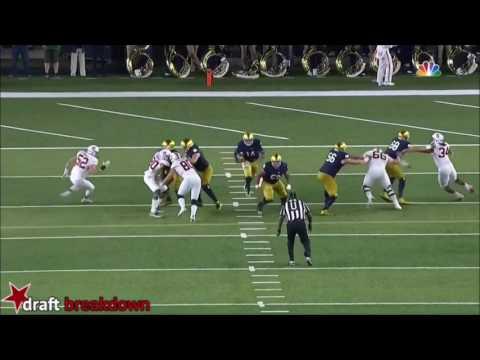 Notre Dame OL vs Stanford (2016)