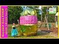 Biggest Golden Egg Surprise Ever! Best Disney Princess and Peppa Pig Toys!