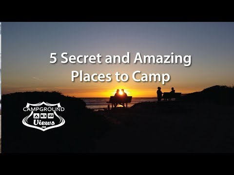 5 Secret and Amazing Places to Camp in the United States