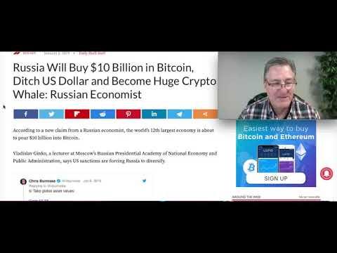 Russia Will Buy $10 Billion In Bitcoin