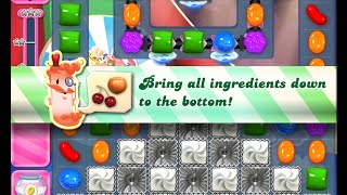 Candy Crush Saga Level 1381 walkthrough (no boosters)