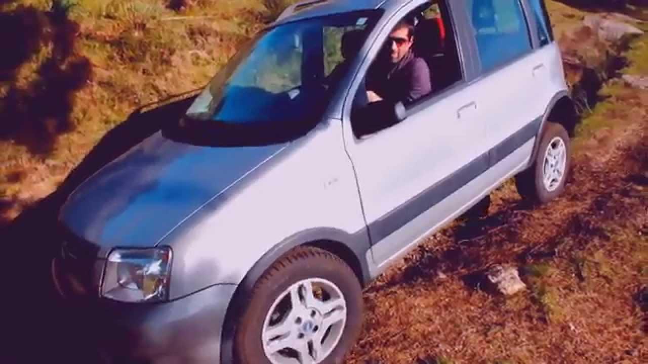 Test off road fiat panda 4x4 climbing youtube for Panda 4x4 youtube