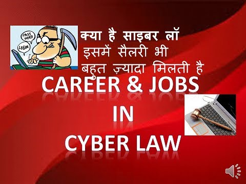 2018 How to earn money as cyber law expert